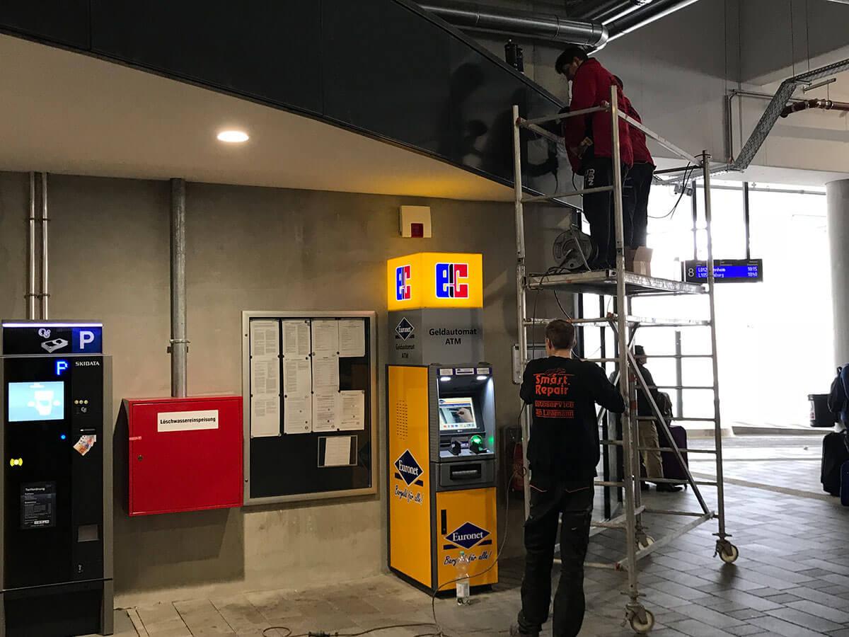 Lackreparaturen und Lackierungen an Maschinen oder Fertigungsteilen aller Art - Autoservice Jan Lehmann in Leipzig